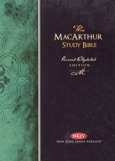 NKJV MacArthur Study Bible, Revised Edition, Hardcover - Slightly Imperfect