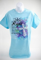 Mr. Right Shirt, Light Blue, Small