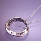 I Have Loved Thee--Mobius Necklace