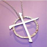 Celtic Nail Cross Pendant