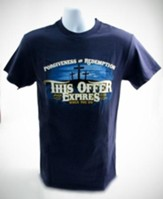 This Offer Expires When You Do, Shirt, Navy, XX Large  - Slightly Imperfect