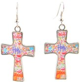 Hope Cross Earrings, Dana Designs