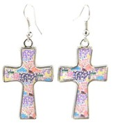 Faith Cross Earrings, Dana Designs