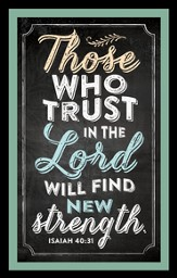 Those Who Trust In the Lord Magnet