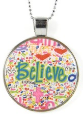 Believe Necklace, Dana Designs