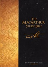 NASB The MacArthur Study Bible (Updated Edition) - Slightly Imperfect