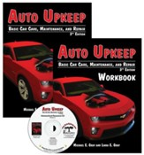 Auto Upkeep: Basic Car Care, Maintenance, and Repair Paperback Homeschool Kit (3rd Edition)