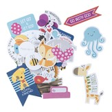 Animals, Die Cut Prompt Cards