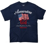 America Shirt, Navy, Large