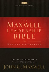 NKJV Maxwell Leadership Bible: Second Edition, hardcover - Slightly Imperfect