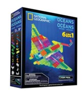 National Geograhic, Oceans Laser Model, 6 in 1