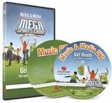 MEGA Sports Camp Get Ready Music & Media DVD & CD