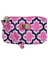 Trust in the Lord, Wristlet, Pink and Navy