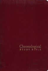The NKJV Chronological Study Bible, Black Cherry