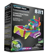 Construction Deluxe Laser Model, 8 in 1