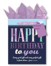 Happy Birthday To You! Every Good and Perfect Gift, Giftbag, Large