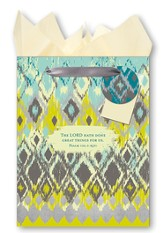 The Lord Hath Done Great Things For Us Giftbag, Medium