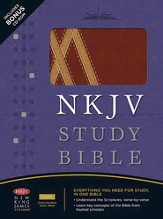The NKJV Study Bible, Second Edition - LeatherSoft Burgundy