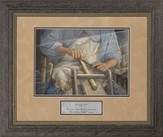 Hands of the Master Craftsman Framed Print