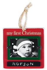 My First Christmas Ornament Photo Frame, Small
