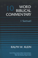 1 Samuel: Word Biblical Commentary [WBC]
