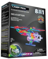 Helicopter Laser Model, 8 in 1