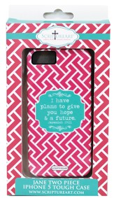 Plans to Give You Hope and a Future, IPhone 5 Case