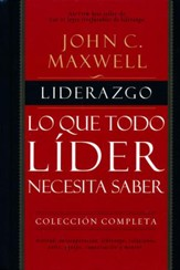 Liderazgo: Lo Que Todo Líder Necesita Saber  (The Complete 101 Collection)