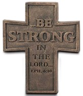 Be Strong Cross Magnet
