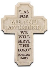 Serve the Lord Cross Magnet