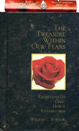The Treasure Within Our Tears (with Memorial Tear Pin)