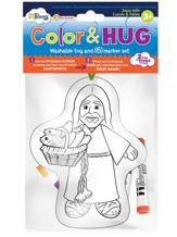 CColor and Hug ™, Jesus with Loaves and Fishes