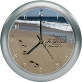 Footprints Clock, Amazing Grace