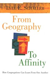 From Geography to Affinity: How Congregations Can  Learn from One Another
