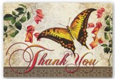 Thank You, Butterfly Cards, Box of 12