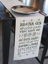 Bless Us With Good Food Table Runner