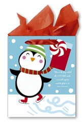 Penguin Gift bag, Large
