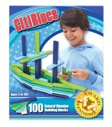 Cool Color Building Set, 100 Pieces