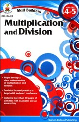 Skill Builders Multiplication and Division Grades 4-5