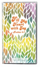 Fill My Heart With Joy, 2016-17 Pocket Planner
