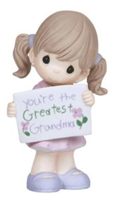 You're the Greatest Grandma Figurine, Girl