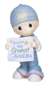 You're the Greatest Grandma Figurine, Boy