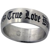 True Love Waits Ring, Tribal, Size 12