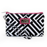 Trust in the Lord, Wristlet, Black and White