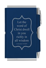 Let the Word, Double Sided Notepad