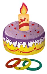 Inflatable Cake Ring Toss
