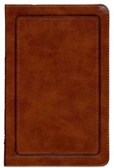 NKJV UltraSlim Reference Bible, LeatherSoft Camel