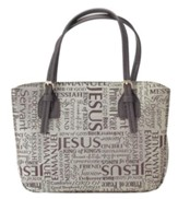 Names of Jesus Bible Cover, Brown, Large