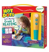 Hot Dots Junior, Let's Master Grade 2 Reading