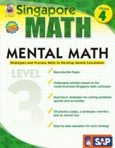 Singapore Mental Math Level 3 Grade 4